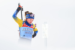 March 9, 2019 - –Stersund, Sweden - 190309 Linn Persson of Sweden at the women's training session during the IBU World Championships Biathlon on March 9, 2019 in Östersund..Photo: Petter Arvidson / BILDBYRÃ…N / kod PA / 92250 (Credit Image: © Petter Arvidson/Bildbyran via ZUMA Press)
