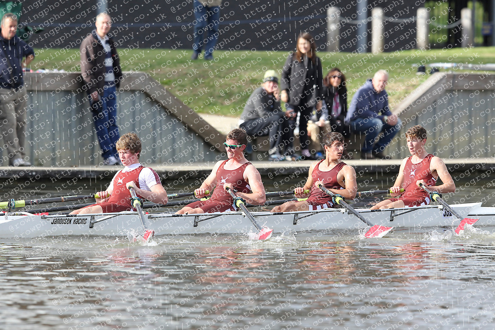 2012.09.29 Wallingford Long Distance Sculls 2012. Division 3. J18A 4x-. St Georges College Boat Club.