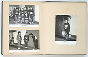 Japan photo album with Kouta music players meeting at Marunouchi hall on Oct 2 1959