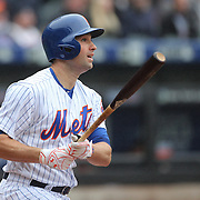 NEW YORK, NEW YORK - MAY 04:  Neil Walker #20 of the New York Mets batting during the Atlanta Braves Vs New York Mets MLB regular season game at Citi Field on May 04, 2016 in New York City. (Photo by Tim Clayton/Corbis via Getty Images)