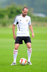 Bristol City's Louis Carey - Photo mandatory by-line: Dougie Allward/JMP - Tel: Mobile: 07966 386802 28/06/2013 - SPORT - FOOTBALL - Bristol -  Bristol City - Pre Season Training - Npower League One