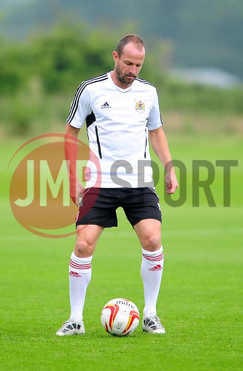 Bristol City's Louis Carey - Photo mandatory by-line: Dougie Allward/JMP - Tel: Mobile: 07966 386802 28/06/2013 - SPORT - FOOTBALL - Bristol -  Bristol City - Pre Season Training - Npower League One