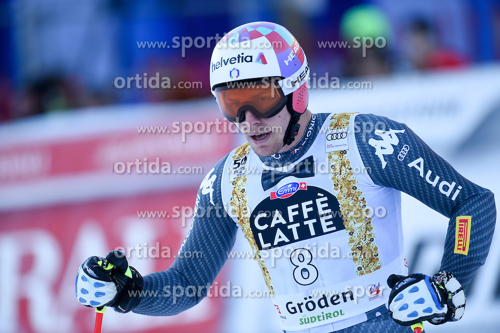 16.12.2016, Saslong, St. Christina, ITA, FIS Weltcup Ski Alpin, Groeden, Abfahrt, Herren, im Bild Mattia Casse (ITA) // Mattia Casse of Italy reacts after his run of men's downhill of FIS Ski Alpine World Cup at the Saslong in St. Christina, Italy on 2016/12/16. EXPA Pictures © 2016, PhotoCredit: EXPA/ Erich Spiess