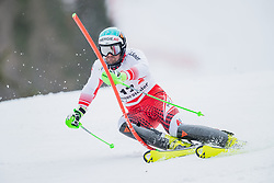 01.03.2020, Hannes Trinkl Weltcupstrecke, Hinterstoder, AUT, FIS Weltcup Ski Alpin, Alpine Kombination, Herren, Slalom, im Bild Vincent Kriechmayr (AUT) // Vincent Kriechmayr of Austria in action during his Slalom run of men's Alpine combined of FIS ski alpine world cup at the Hannes Trinkl Weltcupstrecke in Hinterstoder, Austria on 2020/03/01. EXPA Pictures © 2020, PhotoCredit: EXPA/ Johann Groder
