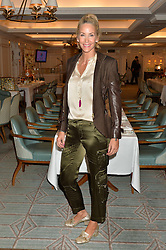 LISA BUTCHER at the 3rd annual Gynaecological Cancer Fund Ladies Lunch at Fortnum & Mason, 181 Piccadilly, London on 29th September 2016.