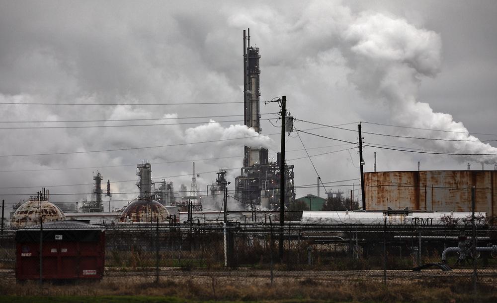Baton Rouge Exxon Mobile plant.