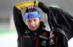 04.01.2012, DKB-Ski-ARENA, Oberhof, GER, E.ON IBU Weltcup Biathlon 2012, Staffel Frauen, im Bild Magdalena Neuner (GER) // during relay Ladies of E.ON IBU World Cup Biathlon, Thüringen, Germany on 2012/01/04. EXPA Pictures © 2012, PhotoCredit: EXPA/ nph/ Hessland..***** ATTENTION - OUT OF GER, CRO *****