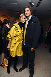 VICTORIA, LADY DE ROTHSCHILD and her son ANTHONY DE ROTHSCHILD at the launch of Ecuador: Block 16 a partnership between IWC watches and David De Rothschild held at The Hospital, Endell Street, Covent Garen, London on 8th October 2007.<br />