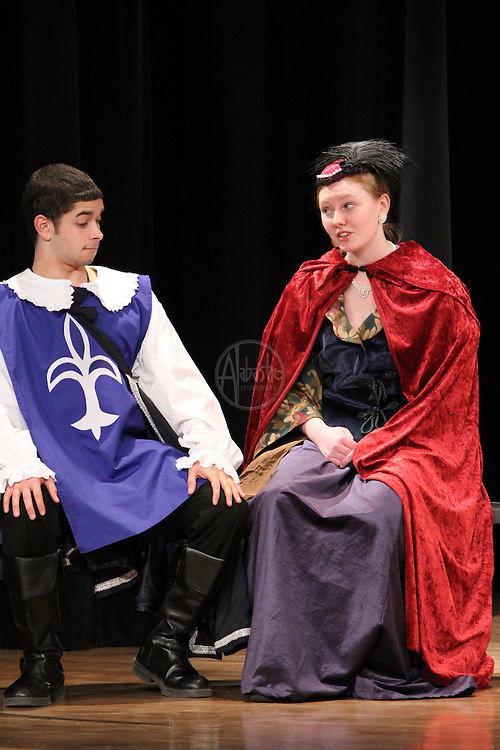 "O'Dea High School's production of ""The Three Musketeers"" at Holy Names Academy Theater on February 26, 2011."