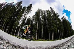 Andrea Calza competes at Sloveian Road Cycling Championship Time Trial 2020 Gorje - Pokljuka, on June 28, 2020 in Pokljuka, Slovenia. Photo by Matic Klansek Velej / Sportida