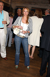 CLEMENTINE HAMBRO at the No Campaign's Summer Party - a celebration of the 'Non' and 'Nee' votes in the Europen referendum in France and The Netherlands held at The Peacock House, 8 Addison Road, London W14 on 5th July 2005.<br />