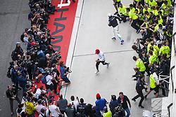 April 14, 2019 - Shanghai, China - Motorsports: FIA Formula One World Championship 2019, Grand Prix of China, ..#44 Lewis Hamilton (GBR, Mercedes AMG Petronas Motorsport), #77 Valtteri Bottas (FIN, Mercedes AMG Petronas Motorsport) (Credit Image: © Hoch Zwei via ZUMA Wire)