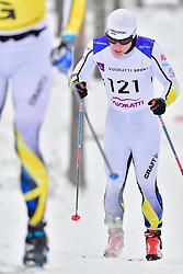 MODIN Zebastian Guide: AHRLIN Jerry, SWE, B1 at the 2018 ParaNordic World Cup Vuokatti in Finland