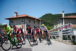 Kasia Niewiadoma (POL) at Giro Rosa 2018 - Stage 10, a 120.3 km road race starting and finishing in Cividale del Friuli, Italy on July 15, 2018. Photo by Sean Robinson/velofocus.com