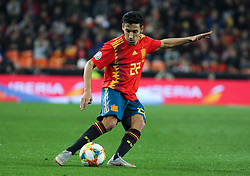March 23, 2019 - Valencia, Valencia, Spain - Navas of Spain in action during European Qualifiers championship, , football match between Spain and Norway, March 23th, in Mestalla Stadium in Valencia, Spain. (Credit Image: © AFP7 via ZUMA Wire)