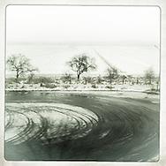 Photography, C-Print with wax, 02.02.2013. 20 x 20 cm Nero Pécora/La pared