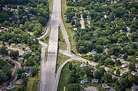 Pennsylvania State Road 309 From Cheltenham Ave to Haws Lane aerial hotography