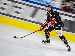 21.02.2018, Tiroler Wasserkraft Arena, Innsbruck, AUT, EBEL, HC TWK Innsbruck die Haie vs EHC Liwest Black Wings Linz, 5. Platzierungsrunde, im Bild Clemens Paulweber (HC TWK Innsbruck  die Haie) // during the Erste Bank Erste Bank Icehockey 5th placement round match between HC TWK Innsbruck  die Haie and EHC Liwest Black Wings Linz at the Tiroler Wasserkraft Arena in Innsbruck, Austria on 2018/02/21. EXPA Pictures © 2018, PhotoCredit: EXPA/ Jakob Gruber