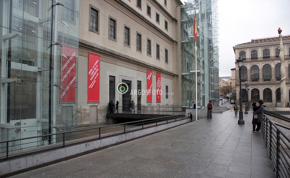 Museu Rainha Sofia em Madri, Espanha /  Reina Sofia Museum. Madrid, Spain