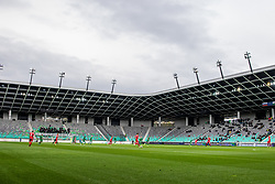 Football match between NK Olimpija Ljubljana and NK Aluminij in Round #27 of Prva liga Telekom Slovenije 2018/19, on April 14th, 2019 in Stadium Stozice, Slovenia Photo by Matic Ritonja / Sportida