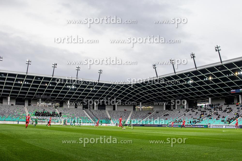 Football match between NK Olimpija Ljubljana and NK Aluminij in Round #27 of Prva liga Telekom Slovenije 2018/19, on April 14th, 2019 in Stadium Stozice, Slovenia Photo by Matic Ritonja / Sportida
