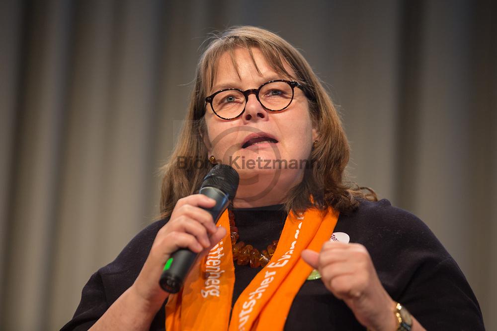 Berlin, Germany - 27.05.2017<br /> <br /> Maria Loheide, Managing Director for social policy at Diakonie Germany. German Protestant Church Assembly (&quot;Deutscher Evangelischer Kirchentag&rdquo;) in Berlin. <br /> <br /> Maria Loheide ist Vorstand Sozialpolitik bei der Diakonie Deutschland. Deutscher Evangelischer Kirchentag 2017 in Berlin. <br /> <br /> Photo: Bjoern Kietzmann