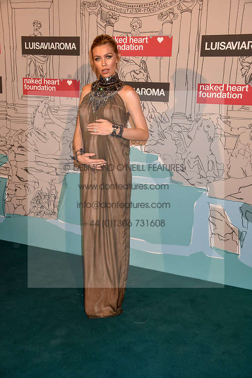 Abigail Clancy at the Fabulous Fund Fair in aid of Natalia Vodianova's Naked Heart Foundation in association with Luisaviaroma held at The Round House, Camden, London England. 18 February 2019.