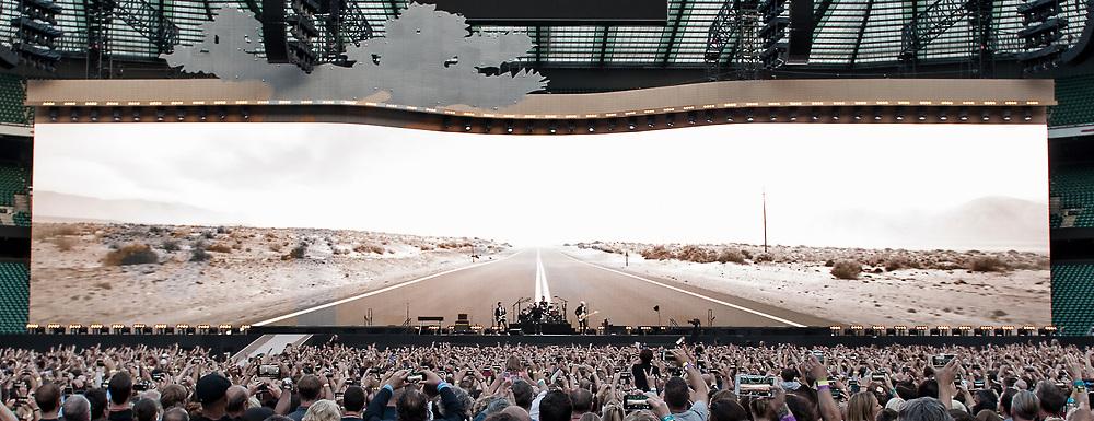 U2 in concert  at Twickenham Stadium, London, Great Britain 9th July 2017 U2 perform The Joshua Tree in full at Twickenham Stadium Stuart Westwood Photography, Amazing Music Pix, U2, The Joshua Tree, Twickenham, London, Amazing Music Pix, Adam Clayton, Bono, The Edge, Larry Mullen Jnr, #U2, #TheJoshuaTreeTour, #TheJoshuaTree2017, #AmazingMusicPix U2 perform The Joshua Tree in full at Twickenham Stadium 9th July 2017