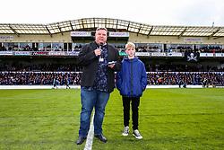 Retiring Bristol Rovers PA announcer Nick Day  - Rogan/JMP - 28/04/2018 - FOOTBALL - Memorial Stadium - Bristol, England - Bristol Rovers v Gillingham - EFL Sky Bet League One.
