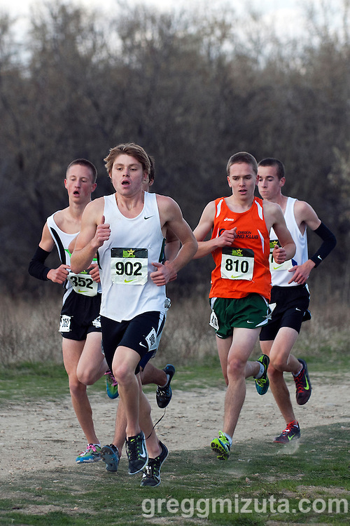 Gabe Harm. NXN Northwest Championships on November 10, 2012 at Eagle Island State Park in Boise, Idaho.