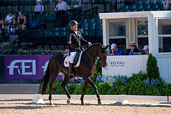 Zeibig Steffen, GER, Feel Good<br /> World Equestrian Games - Tryon 2018<br /> © Hippo Foto - Sharon Vandeput<br /> 19/09/2018