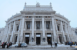 15.12.2010, Innere Stadt, Wien, AUT,  Wien Feature, im Bild Hofburgtheater im ersten Wiener Gemeindebezirk// EXPA Pictures © 2010, PhotoCredit: EXPA/ M. Gruber