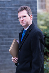Downing Street, London, March 7th 2017. Attorney General Jeremy Wright arrives in Downing Street for a mini cabinet meeting ahead of the Chancellor's March 8th budget.