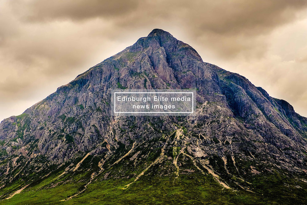 Storm clouds gathering over Buachaille Etive Mor, Glencoe, Highlands of Scotland<br /> <br /> (c) Andrew Wilson | Edinburgh Elite media