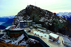 The Hotel Pilatus-Kulm on the 6,900 foot Esel peak of Mount Pilatus.