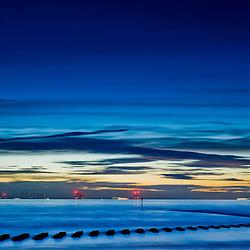 The Liverpool bay taken in New Brighton.