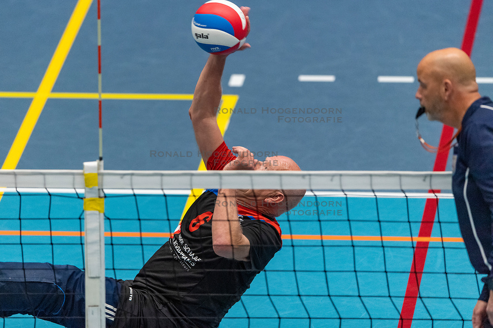20-04-2019 NED: Dirk Kuyt Foundation Cup, Veenendaal<br /> National Cup sitting volleyball in Veenendaal / Spaarnestad