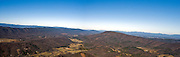 The panoramic view from the very top of McAfee's Knob.  The very best view in Southwest Virginia!