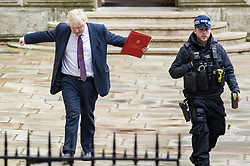 © Licensed to London News Pictures. 20/03/2018. London, UK. Foreign Secretary Boris Johnson on Downing Street for the Cabinet meeting. Photo credit: Rob Pinney/LNP