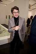 HONOR FRASER, opening of the 2010 Frieze art fair. Regent's Park. London. 13 October 2010. -DO NOT ARCHIVE-© Copyright Photograph by Dafydd Jones. 248 Clapham Rd. London SW9 0PZ. Tel 0207 820 0771. www.dafjones.com.