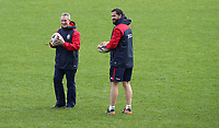Rugby Union - 2017 British & Irish Lions Tour of New Zealand - Captains Run <br /> <br /> Assistant coaches Rob Howley and Andy Farrell chat during during the Captains Run at The QBE Stadium, Auckland. <br /> <br /> COLORSPORT/LYNNE CAMERON