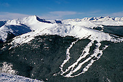 Jaques Peak & Resolution Bowl at Copper Mountain, Colorado--Holy Cross Wilderness in background