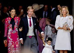 July 8, 2017 - Hanover, GERMANY - 08-07-2017 Wedding of Prince Ernst August of Hanover and Ekaterina 'Katya' Malysheva at the Marktkirche (church) in Hanover, Germany. Christian Prince of Hanover and his fiance Alessandra de Osma and Chantal Hochuli.© PPE/Nieboer.Credit: PPE/face to face.- No Rights for Netherlands  (Credit Image: © face to face via ZUMA Press)