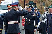 Dieppe Raid 70th Anniversary Memorial Service Lord Lieutenant of East Sussex Peter Field