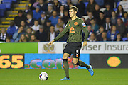 Everton's defender John Stones controls the ball during the Capital One Cup match between Reading and Everton at the Madejski Stadium, Reading, England on 22 September 2015. Photo by Mark Davies.
