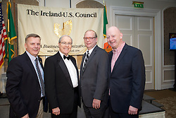 17/12/2015<br /> 17 December 2015<br /> Pictured at The Ireland - U.S. Council Holiday Season Member - Guest Reception at the InterContinental Hotel, Dublin were (L-R):<br /> Kevin Tuck, Alltech;<br /> U.S. Ambassador, Kevin F. O'Malley;<br /> Martin Roche, AquaComms<br /> and Greg Varisco, AquaComms.