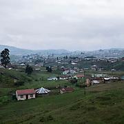 A view of the rural area of Vulindlela, in KwaZulu Natal, South Africa. 7 November 2017. © Miora Rajaonary / Wall Street Journal
