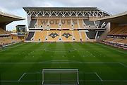 Pitch during the EFL Sky Bet Championship match between Wolverhampton Wanderers and Derby County at Molineux, Wolverhampton, England on 5 November 2016. Photo by Alan Franklin.