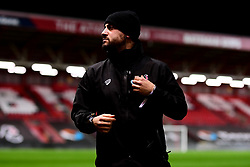Marco Chiavetta prior to kick off - Mandatory by-line: Ryan Hiscott/JMP - 17/02/2020 - FOOTBALL - Ashton Gate Stadium - Bristol, England - Bristol City Women v Everton Women - Women's FA Cup fifth round