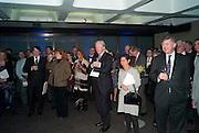 LA Philharmonic reception, Fountain room, Barbican. 27 January 2011 -DO NOT ARCHIVE-© Copyright Photograph by Dafydd Jones. 248 Clapham Rd. London SW9 0PZ. Tel 0207 820 0771. www.dafjones.com.